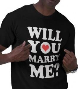 אל דאגה, לא הצעתי לה עם החולצה הזאת ;)